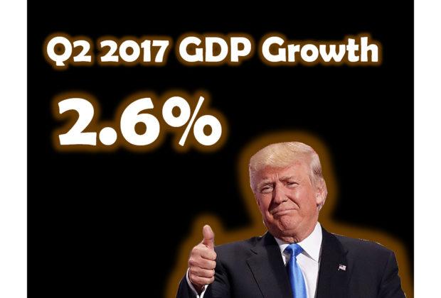 Q2 2017 GDP Growth 2.6%