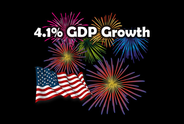 4.1% GDP Growth