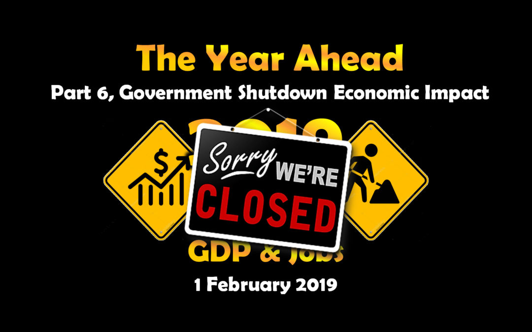Part 6, Government Shutdown Economic Impact