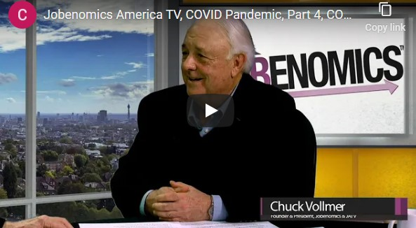 Jobenomics America TV, COVID Pandemic, Part 4, COVID Update- 11 November 2020
